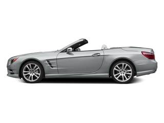Iridium Silver Metallic 2015 Mercedes-Benz SL-Class Pictures SL-Class Roadster 2D SL400 V6 Turbo photos side view