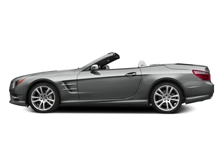 Palladium Silver Metallic 2015 Mercedes-Benz SL-Class Pictures SL-Class Roadster 2D SL400 V6 Turbo photos side view