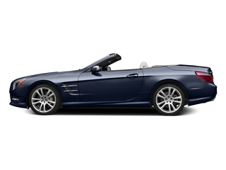 Lunar Blue Metallic 2015 Mercedes-Benz SL-Class Pictures SL-Class Roadster 2D SL400 V6 Turbo photos side view