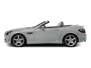 Iridium Silver Metallic 2015 Mercedes-Benz SLK-Class Pictures SLK-Class Roadster 2D SLK250 I4 Turbo photos side view