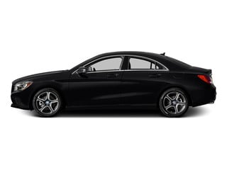 Cosmos Black Metallic 2015 Mercedes-Benz CLA-Class Pictures CLA-Class Sedan 4D CLA250 AWD I4 Turbo photos side view