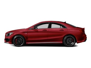 Jupiter Red 2015 Mercedes-Benz CLA-Class Pictures CLA-Class Sedan 4D CLA45 AMG AWD I4 Turbo photos side view