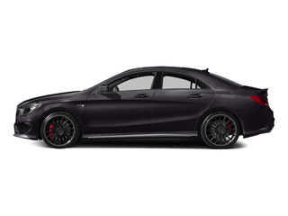 Northern Lights Violet Metallic 2015 Mercedes-Benz CLA-Class Pictures CLA-Class Sedan 4D CLA45 AMG AWD I4 Turbo photos side view