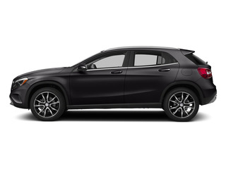 Night Black 2015 Mercedes-Benz GLA-Class Pictures GLA-Class Utility 4D GLA250 AWD I4 Turbo photos side view