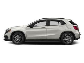 Pearl Silver Metallic 2015 Mercedes-Benz GLA-Class Pictures GLA-Class Utility 4D GLA45 AMG AWD I4 Turbo photos side view