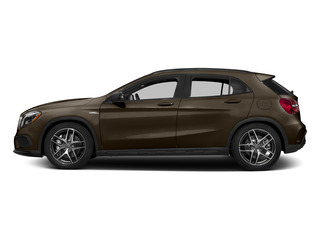 Cocoa Brown Metallic 2015 Mercedes-Benz GLA-Class Pictures GLA-Class Utility 4D GLA45 AMG AWD I4 Turbo photos side view