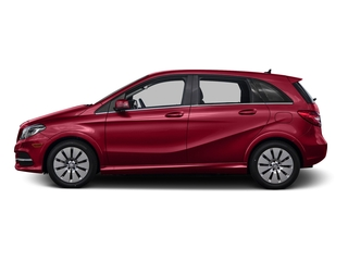 Jupiter Red 2015 Mercedes-Benz B-Class Pictures B-Class Hatchback 5D Electric Drive photos side view