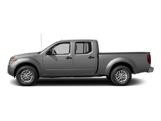 Brilliant Silver 2015 Nissan Frontier Pictures Frontier Crew Cab SV 2WD photos side view