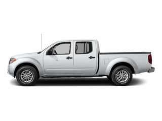 Glacier White 2015 Nissan Frontier Pictures Frontier Crew Cab SV 2WD photos side view
