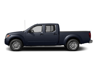 Arctic Blue Metallic 2015 Nissan Frontier Pictures Frontier Crew Cab SV 2WD photos side view