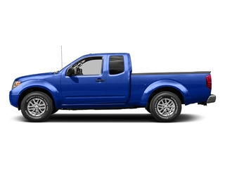 Metallic Blue 2015 Nissan Frontier Pictures Frontier King Cab PRO-4X 4WD photos side view