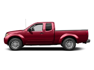 Lava Red 2015 Nissan Frontier Pictures Frontier King Cab PRO-4X 4WD photos side view