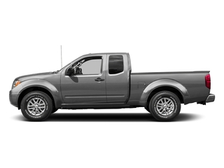 Brilliant Silver 2015 Nissan Frontier Pictures Frontier King Cab S 2WD photos side view