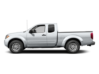 Glacier White 2015 Nissan Frontier Pictures Frontier King Cab S 2WD photos side view
