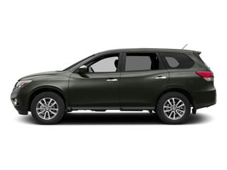 Midnight Jade 2015 Nissan Pathfinder Pictures Pathfinder Utility 4D S 4WD V6 photos side view