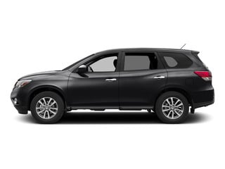 Magnetic Black 2015 Nissan Pathfinder Pictures Pathfinder Utility 4D S 4WD V6 photos side view