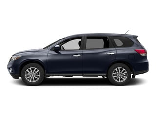 Arctic Blue Metallic 2015 Nissan Pathfinder Pictures Pathfinder Utility 4D S 4WD V6 photos side view