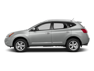 Frosted Steel 2015 Nissan Rogue Select Pictures Rogue Select Utility 4D S 2WD I4 photos side view