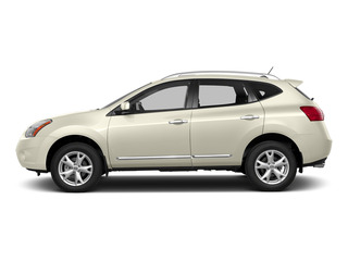Pearl White 2015 Nissan Rogue Select Pictures Rogue Select Utility 4D S 2WD I4 photos side view