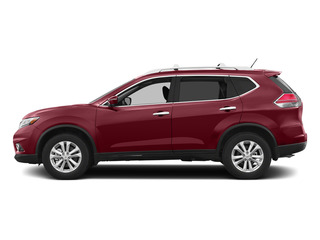 Cayenne Red 2015 Nissan Rogue Pictures Rogue Utility 4D SV AWD I4 photos side view
