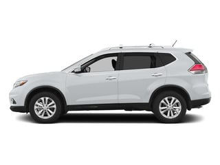 Glacier White 2015 Nissan Rogue Pictures Rogue Utility 4D SV AWD I4 photos side view