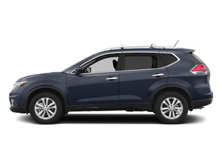 Arctic Blue Metallic 2015 Nissan Rogue Pictures Rogue Utility 4D SV AWD I4 photos side view