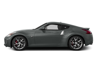 Gun Metallic 2015 Nissan 370Z Pictures 370Z Coupe 2D V6 photos side view