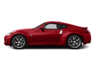 Magma Red Metallic 2015 Nissan 370Z Pictures 370Z Coupe 2D V6 photos side view