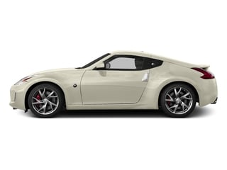 Pearl White 2015 Nissan 370Z Pictures 370Z Coupe 2D V6 photos side view