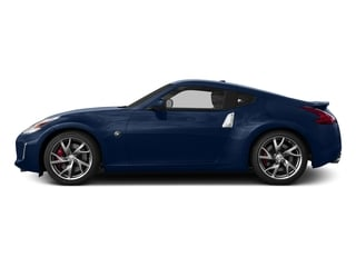 Midnight Blue Metallic 2015 Nissan 370Z Pictures 370Z Coupe 2D V6 photos side view