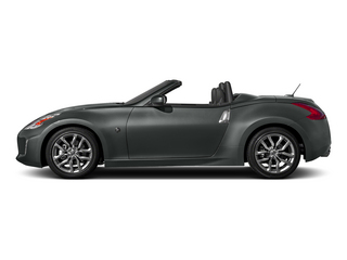 Gun Metallic 2015 Nissan 370Z Pictures 370Z Roadster 2D Touring Sport V6 photos side view