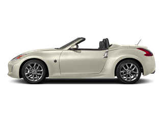Pearl White 2015 Nissan 370Z Pictures 370Z Roadster 2D Touring Sport V6 photos side view