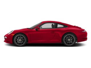 Guards Red 2015 Porsche 911 Pictures 911 Coupe 2D H6 photos side view