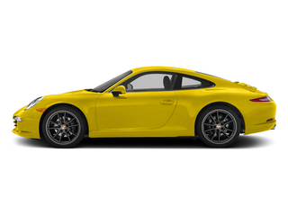 Racing Yellow 2015 Porsche 911 Pictures 911 Coupe 2D H6 photos side view