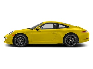 Racing Yellow 2015 Porsche 911 Pictures 911 Coupe 2D 4 AWD H6 photos side view