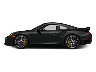 Jet Black Metallic 2015 Porsche 911 Pictures 911 Coupe 2D Turbo S AWD H6 photos side view