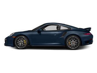 Dark Blue Metallic 2015 Porsche 911 Pictures 911 Coupe 2D Turbo S AWD H6 photos side view