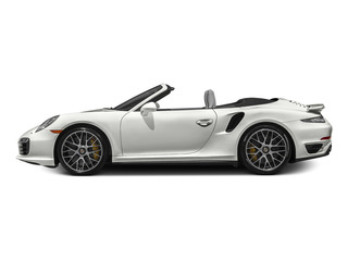 White 2015 Porsche 911 Pictures 911 Cabriolet 2D S AWD H6 Turbo photos side view