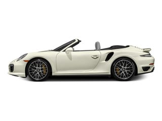 Carrara White Metallic 2015 Porsche 911 Pictures 911 Cabriolet 2D S AWD H6 Turbo photos side view