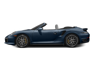Dark Blue Metallic 2015 Porsche 911 Pictures 911 Cabriolet 2D S AWD H6 Turbo photos side view