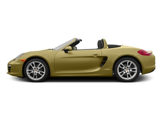 Lime Gold Metallic 2015 Porsche Boxster Pictures Boxster Roadster 2D H6 photos side view