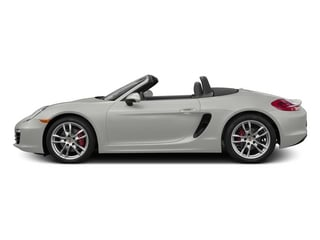 White 2015 Porsche Boxster Pictures Boxster Roadster 2D S H6 photos side view