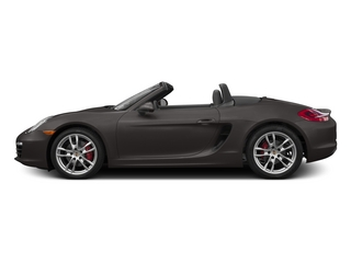 Anthracite Brown Metallic 2015 Porsche Boxster Pictures Boxster Roadster 2D S H6 photos side view