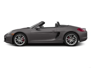 Agate Gray Metallic 2015 Porsche Boxster Pictures Boxster Roadster 2D S H6 photos side view