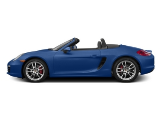Sapphire Blue Metallic 2015 Porsche Boxster Pictures Boxster Roadster 2D GTS H6 photos side view