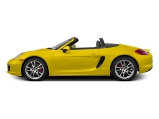 Racing Yellow 2015 Porsche Boxster Pictures Boxster Roadster 2D S H6 photos side view