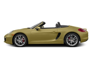 Lime Gold Metallic 2015 Porsche Boxster Pictures Boxster Roadster 2D S H6 photos side view