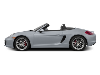Rhodium Silver Metallic 2015 Porsche Boxster Pictures Boxster Roadster 2D S H6 photos side view