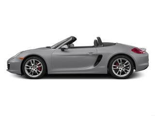 GT Silver Metallic 2015 Porsche Boxster Pictures Boxster Roadster 2D S H6 photos side view