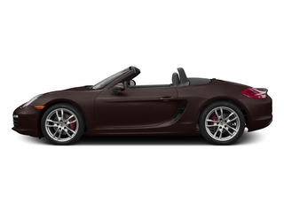 Mahogany Metallic 2015 Porsche Boxster Pictures Boxster Roadster 2D S H6 photos side view